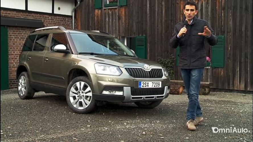 Skoda Yeti 2014: simpatica, pratica e anche double face [VIDEO]