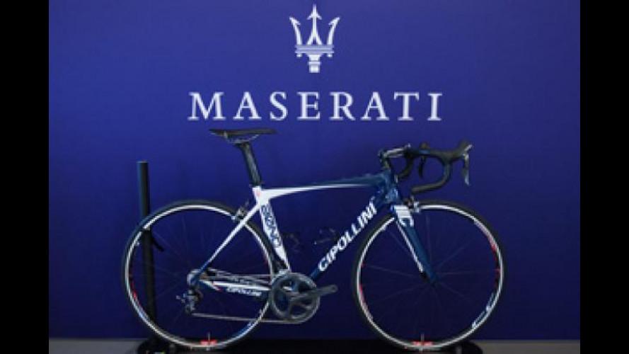 Maserati crea una bici unica con Mario Cipollini