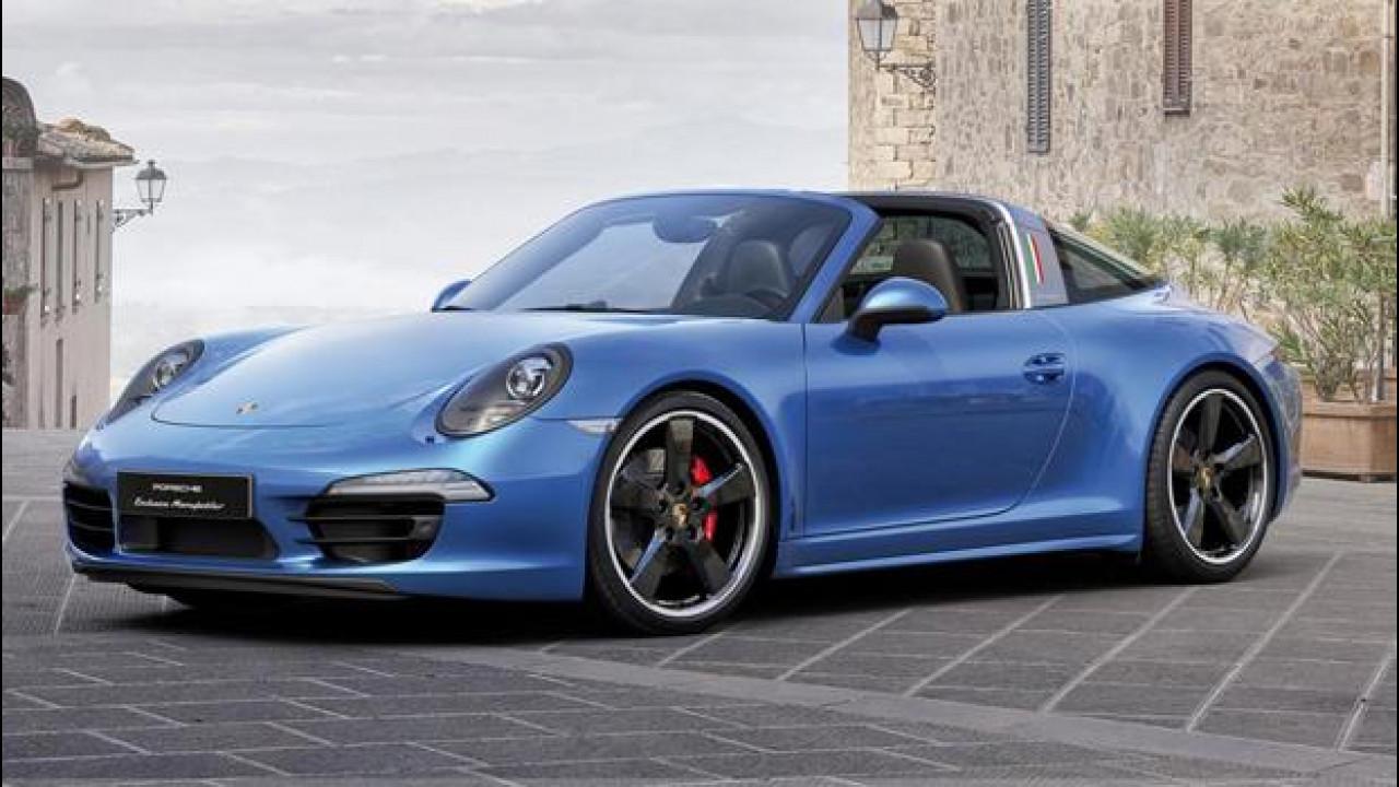 [Copertina] - Porsche 911 Targa 4S, edizione limitata per l'Italia