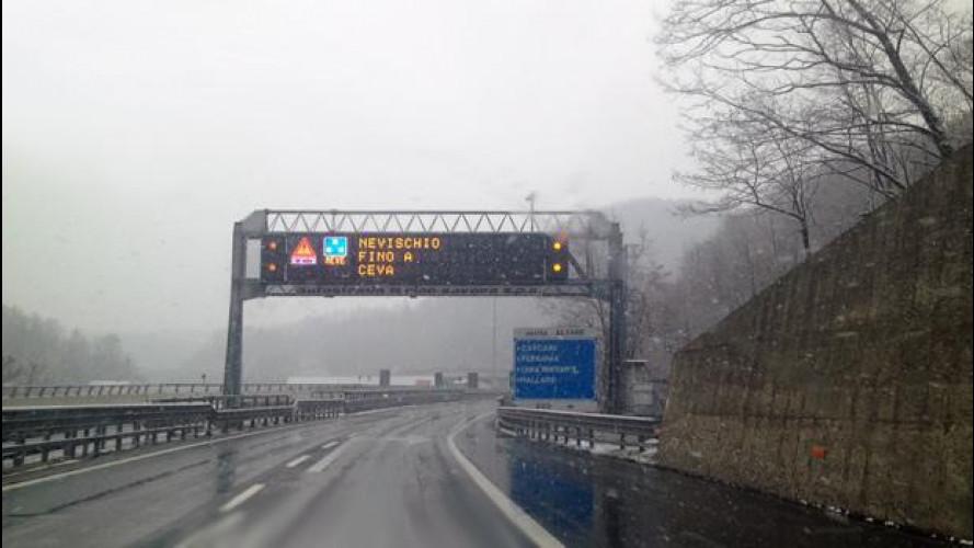 Pneumatici invernali o catene da neve: dove sono obbligatori in autostrada