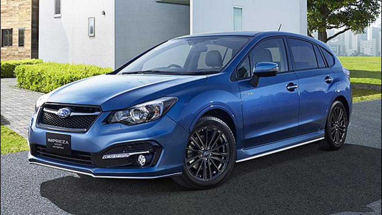 [Copertina] - Subaru Impreza Sport Hybrid, solo per il Giappone