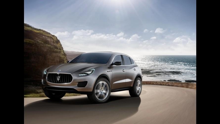 Maserati planeja crossover compacto menor que o Levante para 2016