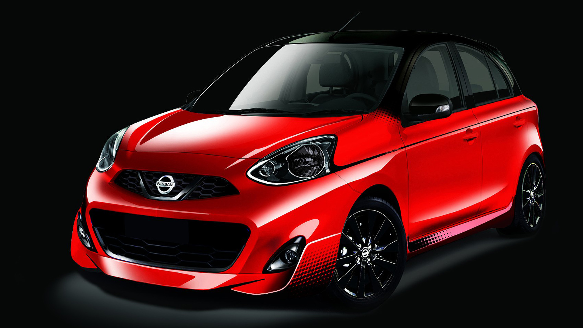 Nissan March Tuning >> Wide Mouthed Nissan March Midnight Edition Ready For Debut In Sao Paulo