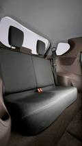 Toyota iQ rear seating arrangement