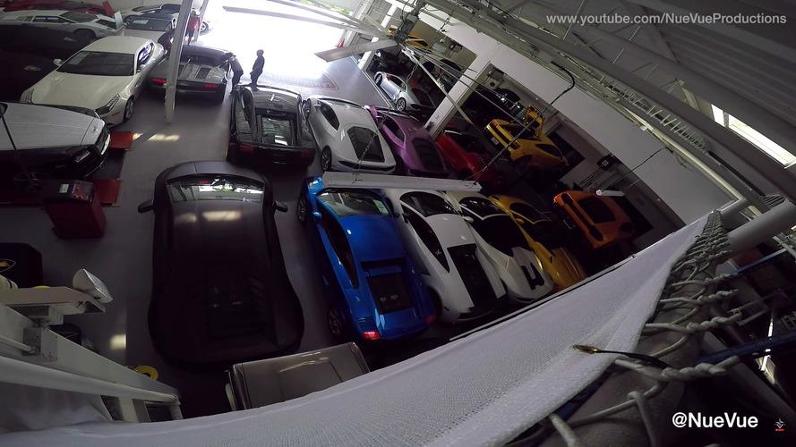 49 supercars à l'abri de l'ouragan Matthew