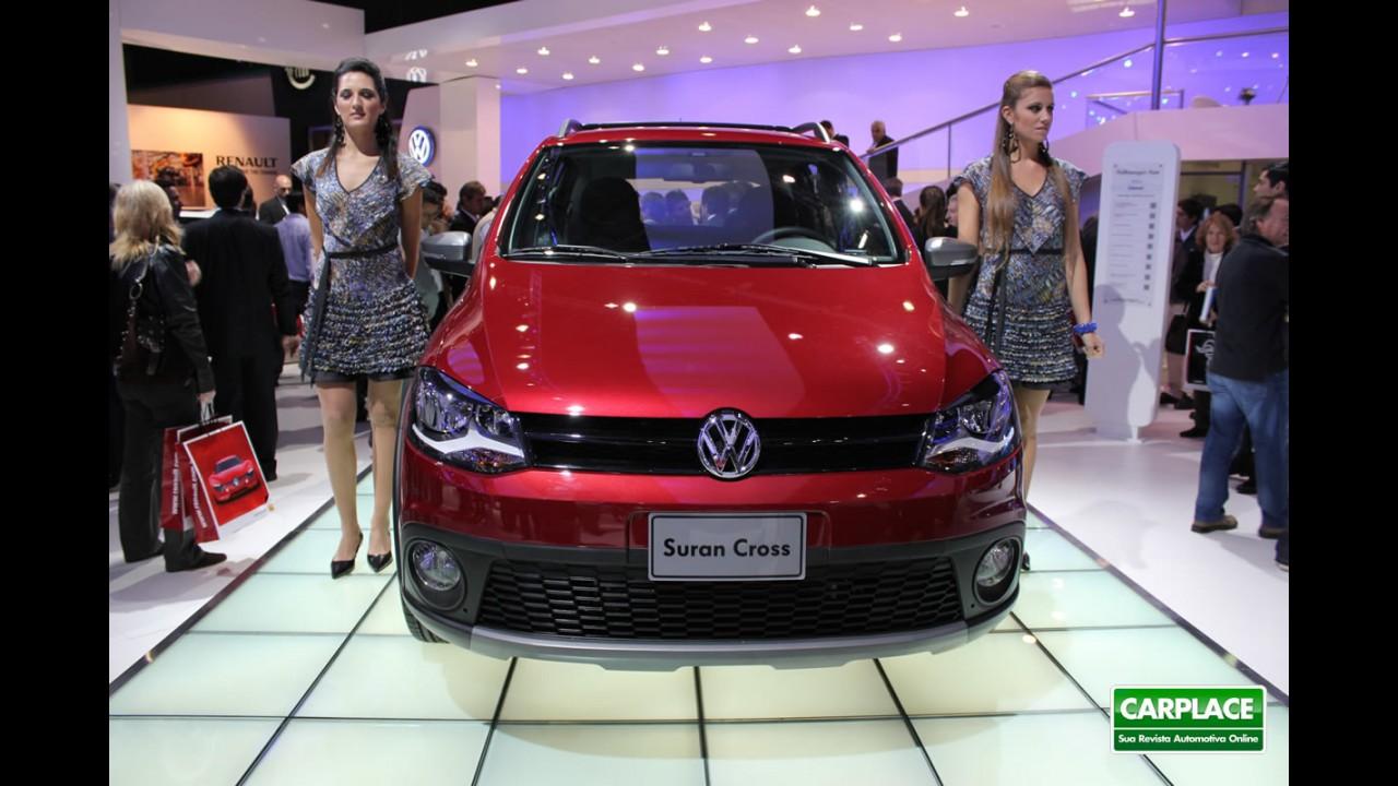 Salão de Buenos Aires: Volkswagen apresenta a Nova SpaceCross (Suran Cross por lá)