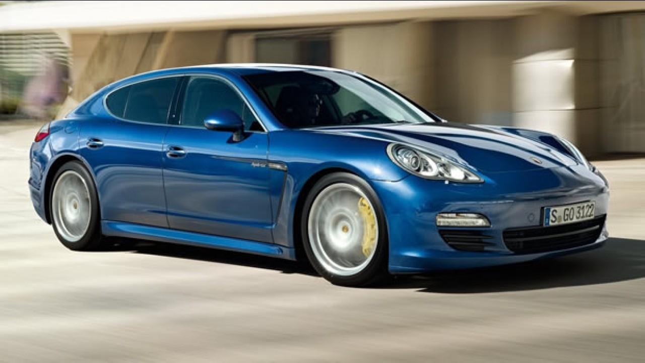 Porsche lançará Panamera S Hybrid no Salão de Genebra