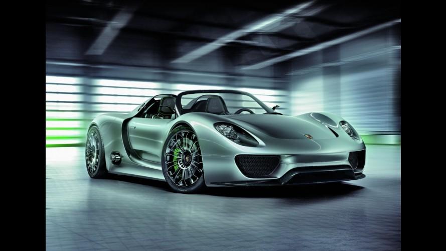 Porsche adianta detalhes do 918 Spyder, que estreia em Frankfurt