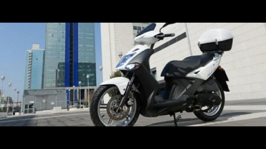 Kymco Agility R16 restyling 2012