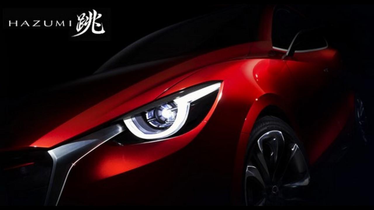 Veja o primeiro teaser do Mazda Hazumi, que antecipa o futuro Mazda2