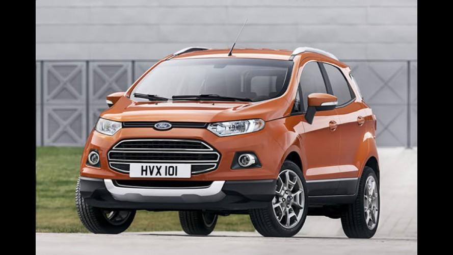 Ford já vende EcoSport no Reino Unido, Alemanha e França