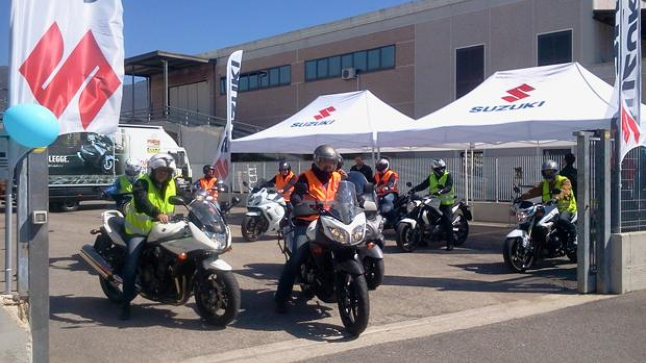 Suzuki Demo Ride Tour 2013: in Lombardia e Toscana