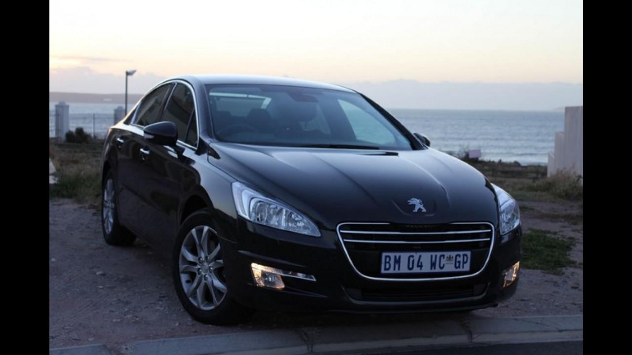 Peugeot lançará conversível 308 CC e sedã 508 no Brasil ainda neste ano