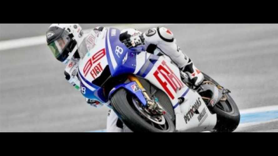 MotoGP, Estoril, libere 3: Ancora Lorenzo al top