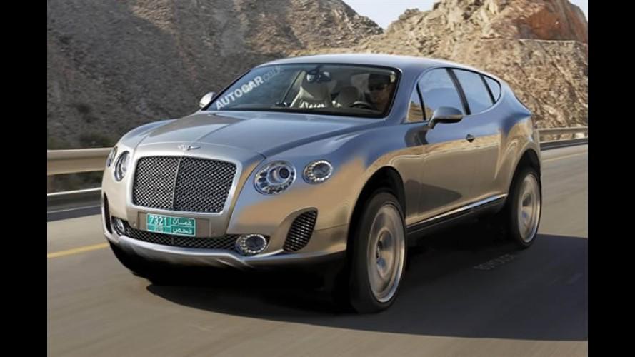 """SUV da Bentley terá motor V12 para mostrar """"Quem é o chefe"""""""