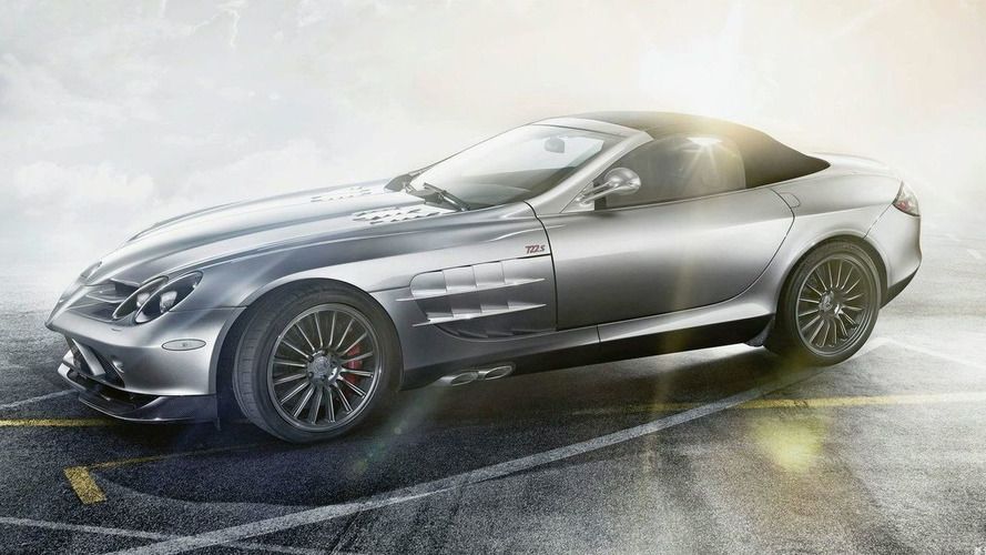 Mercedes-Benz SLR McLaren Roadster 722 S Revealed