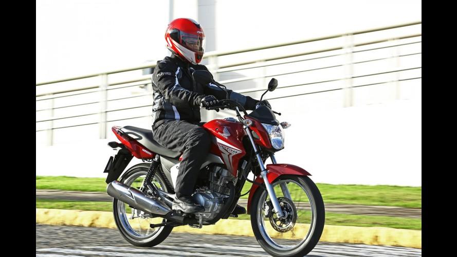 Honda CG 2014 agora tem garantia de três anos