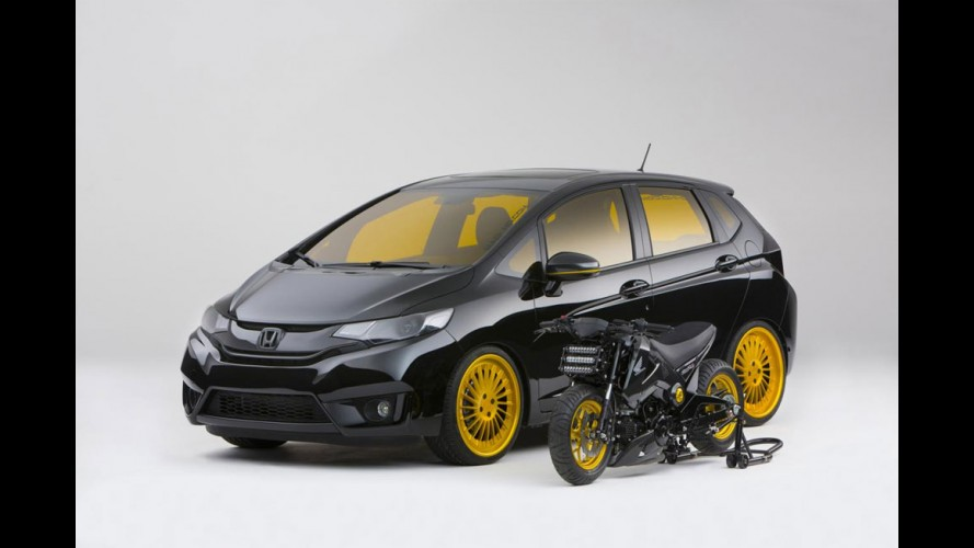 Honda mostra nove versões customizadas do Fit 2015 no SEMA