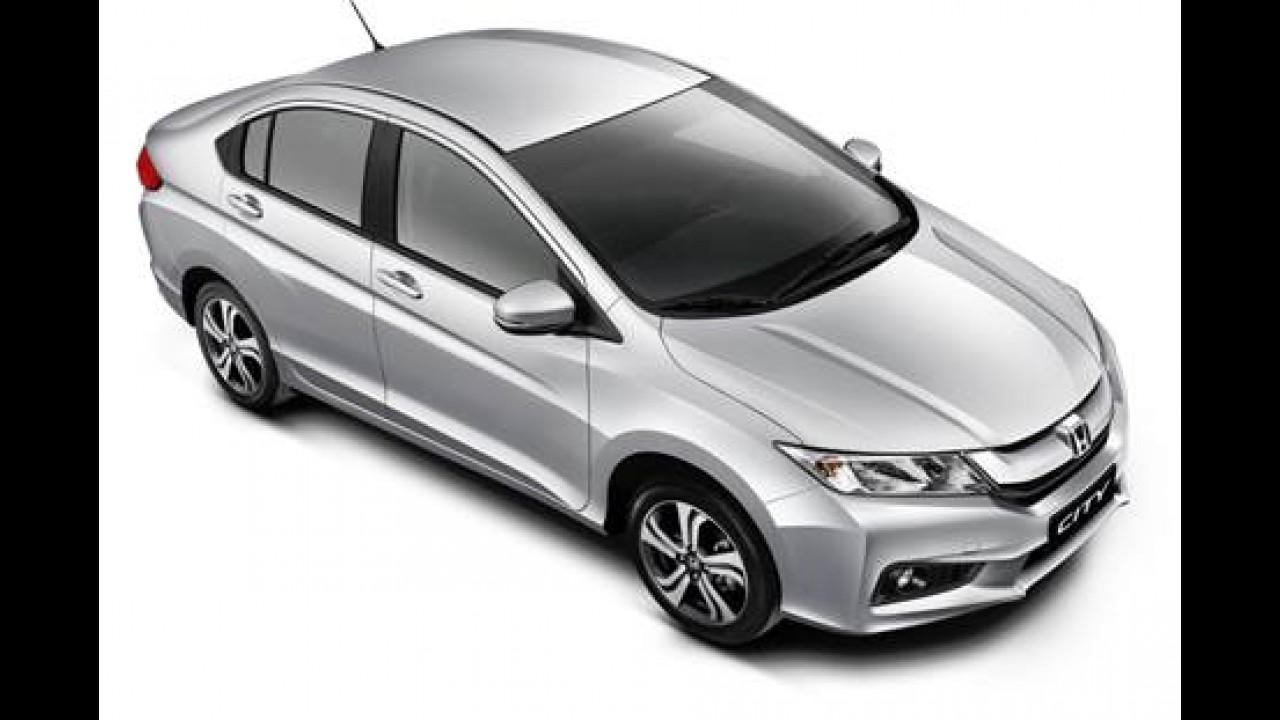 Novo Honda City 2015 já tem preços: de 53,9 mil a R$ 69 mil