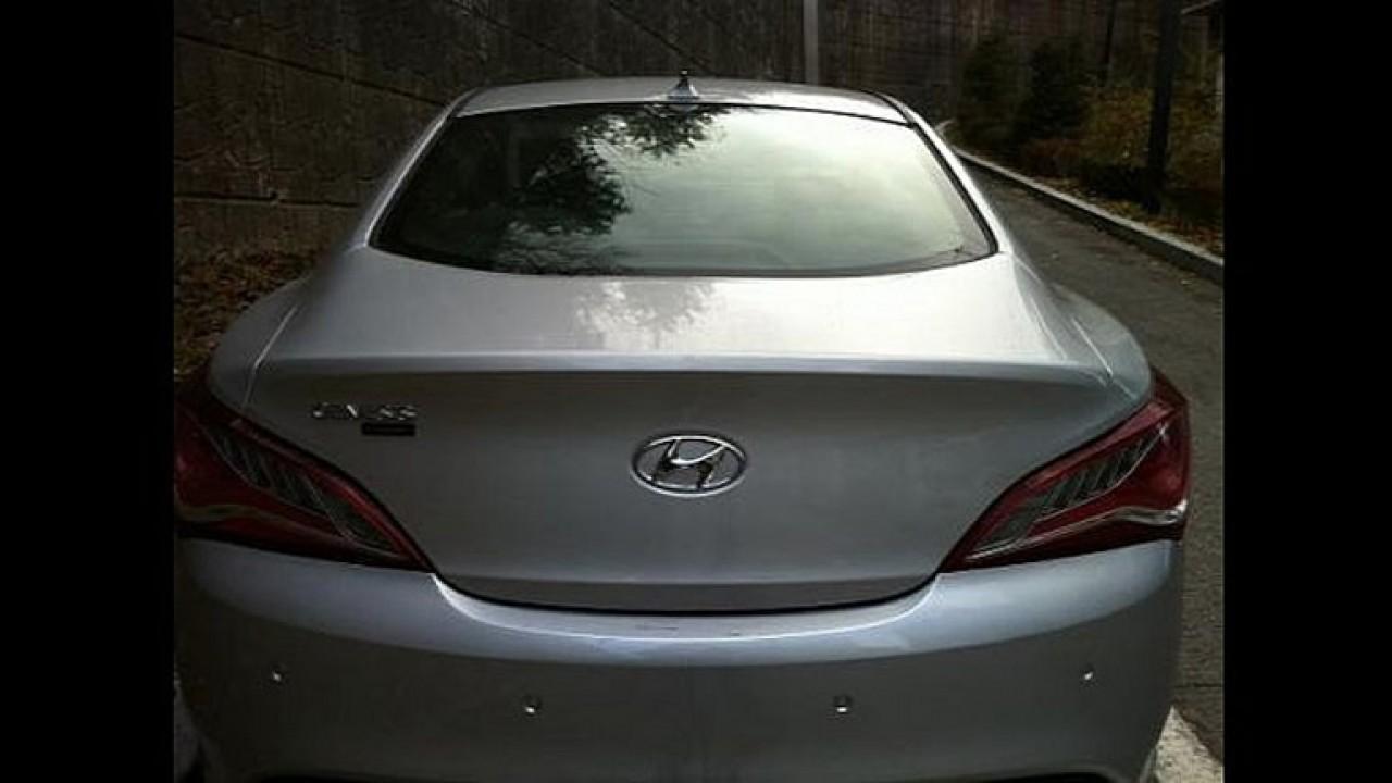 Novo Hyundai Genesis Coupé: Flagra revela todos os detalhes!