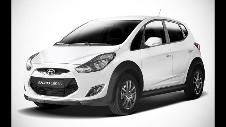 Receita brasileira: Hyundai ix20 Cross é novidade na Bélgica