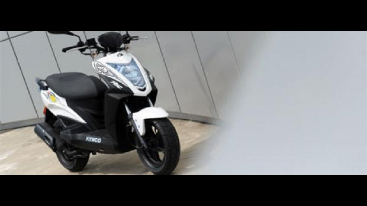 Kymco Agility RS 50 2T naked
