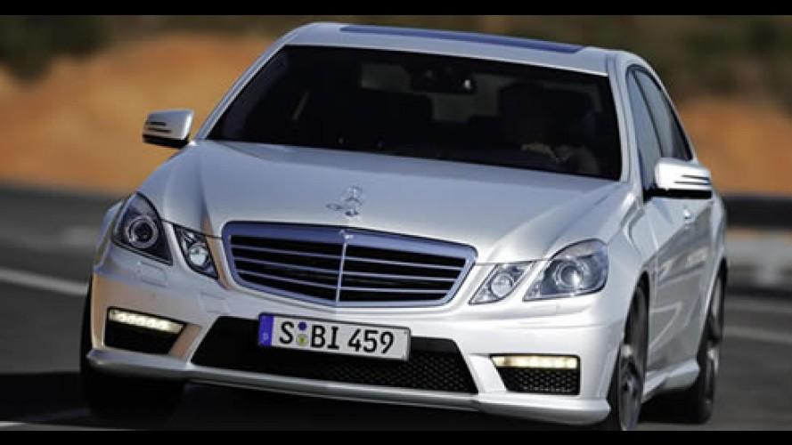 Mercedes revela o novo Classe E 63 AMG - Esportivo tem motor V8 de 525cv