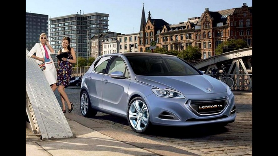 Sucessor do Peugeot 308 será apresentado em setembro