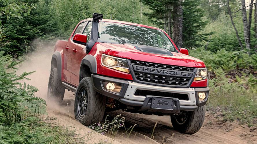 Chevrolet Colorado ZR2 Bison pick-up dell'anno