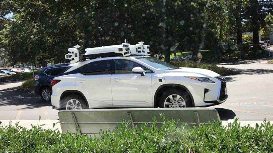 Un véhicule autonome d'Apple impliqué dans un accident