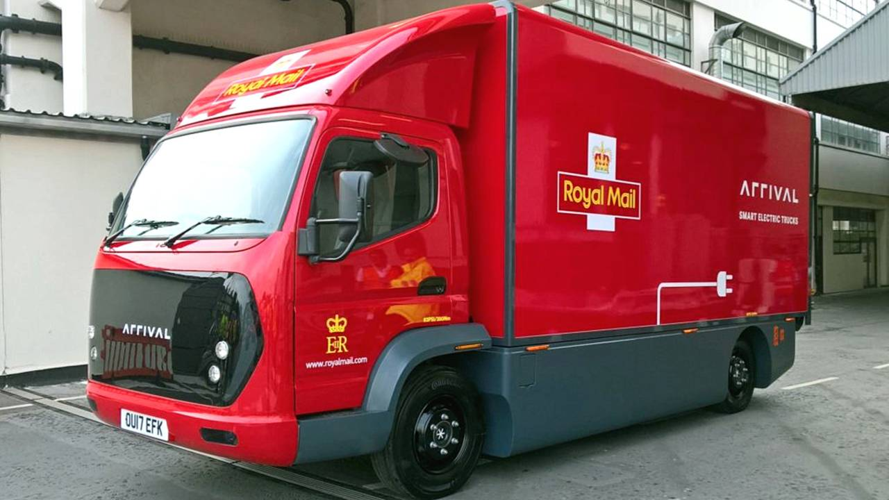 Arrival EV truck for Royal Mail