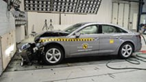 2019 Audi A6 Euro NCAP crash test