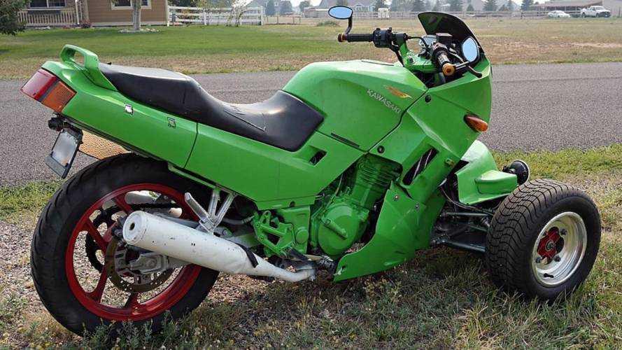 1992 Kawasaki Ninja 250 Trike