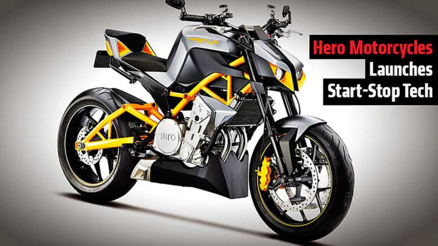 News: Hero Motorcycles Start Stop Tech