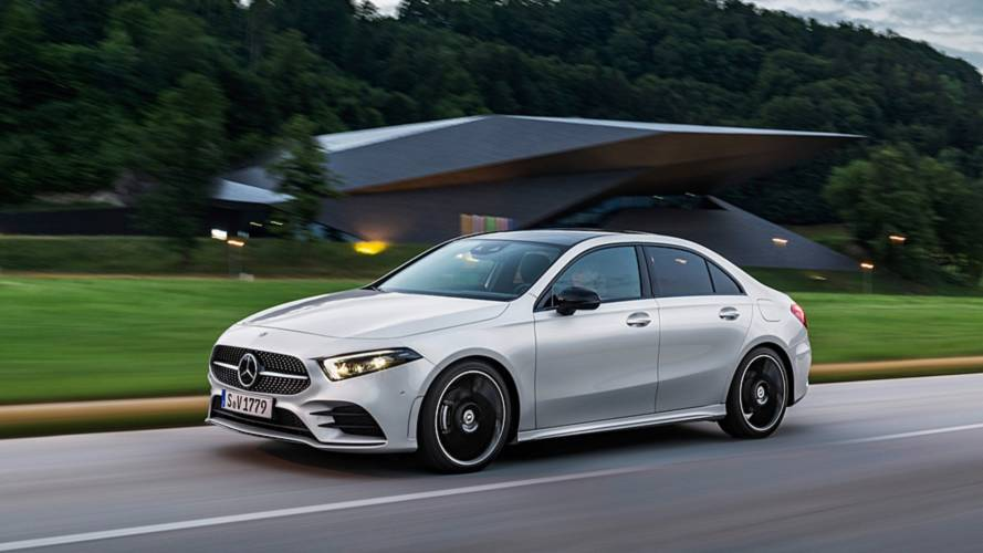 Mercedes A-Klasse Limousine: Schicke Stufe