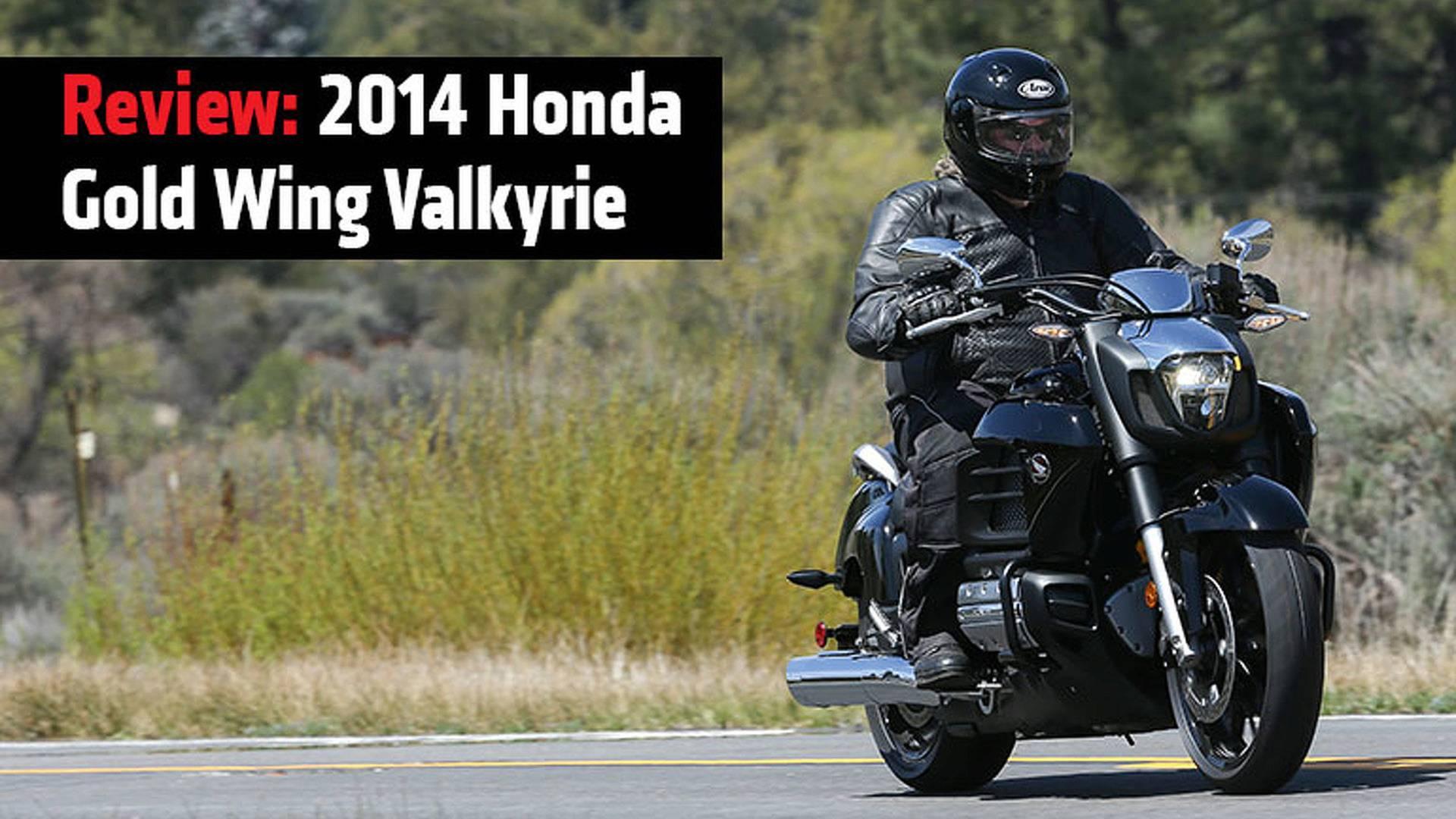 2014 Honda Valkyrie >> Review 2014 Honda Gold Wing Valkyrie