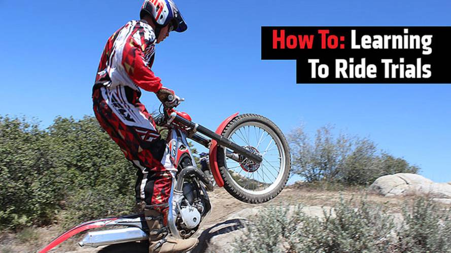 How To: Learning To Ride Trials