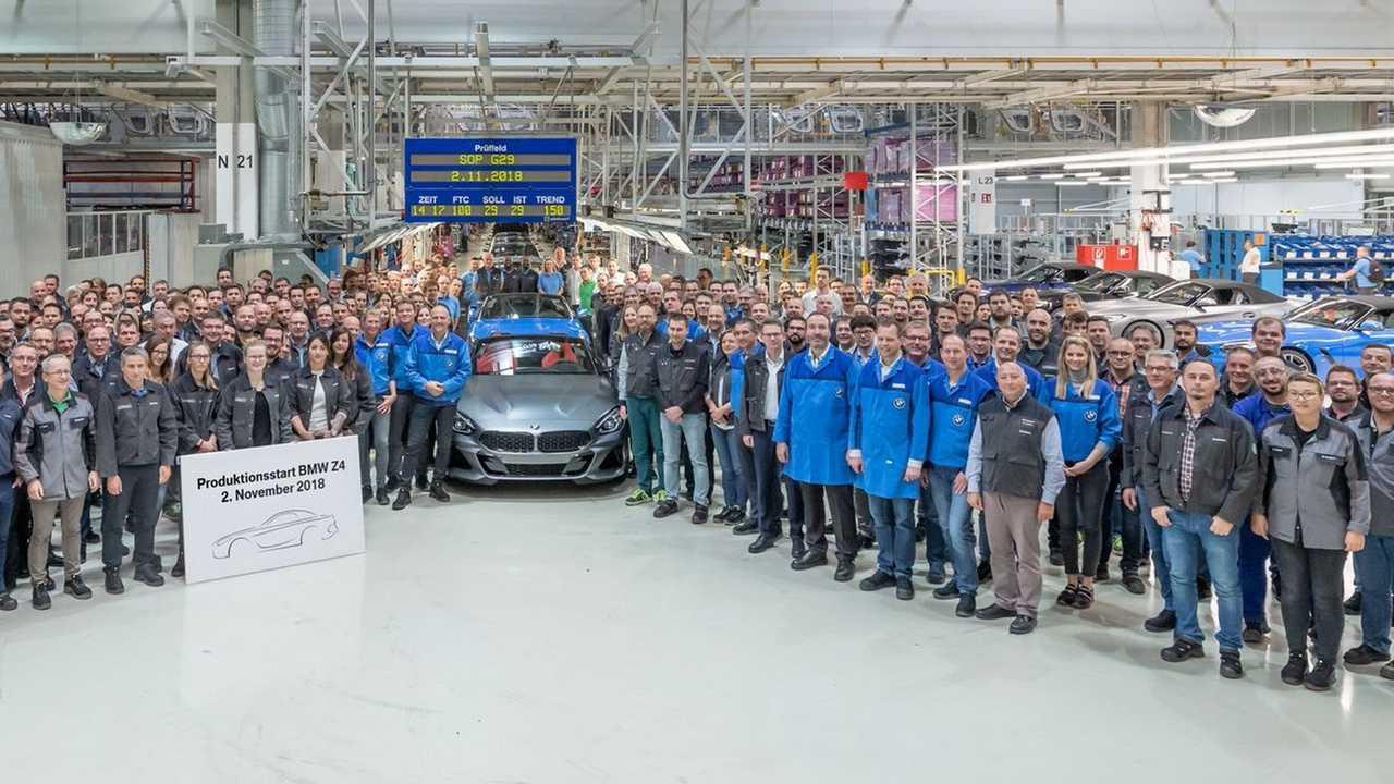 2019 BMW Z4 production start