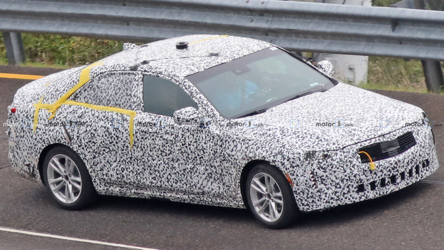 Cadillac CT4 Spied For Very First Time, Looks Like Smaller CT5