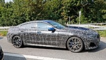 BMW 8 Series Gran Coupe Spy Photo