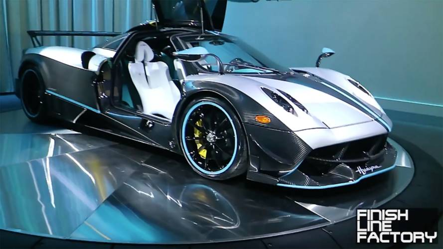 Pagani Huayra L'Ultimo Shines In Walkaround Video
