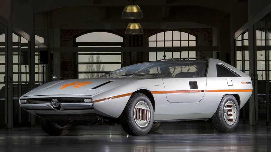 Vergessene Studien: Alfa Romeo Caimano (1971)