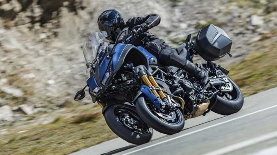 Yamaha Announces Niken GT Three-Wheeled Sport Tourer