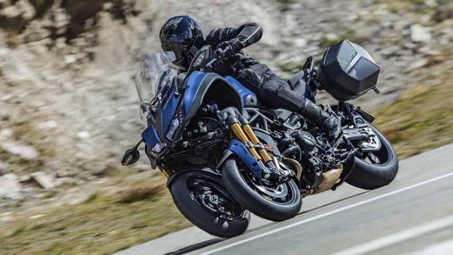Yamaha Announces Niken GT Three-Wheeled Sport Tourer
