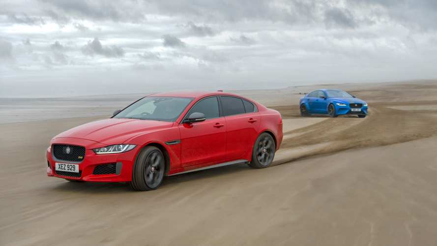 Jaguar XE Celebrates Its DNA With 0.6 Miles-Long Artwork