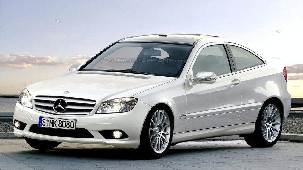Mercedes CLC Artist Rendering