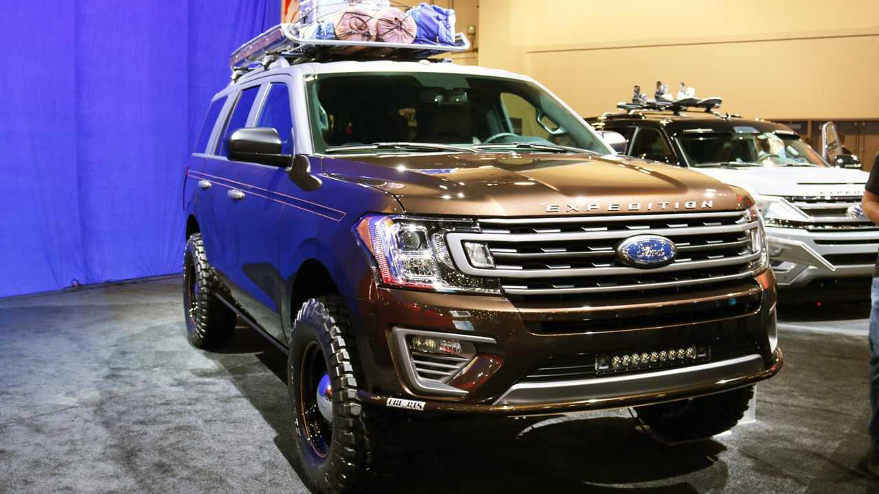 Ford Custom SUV SEMA Live Photos