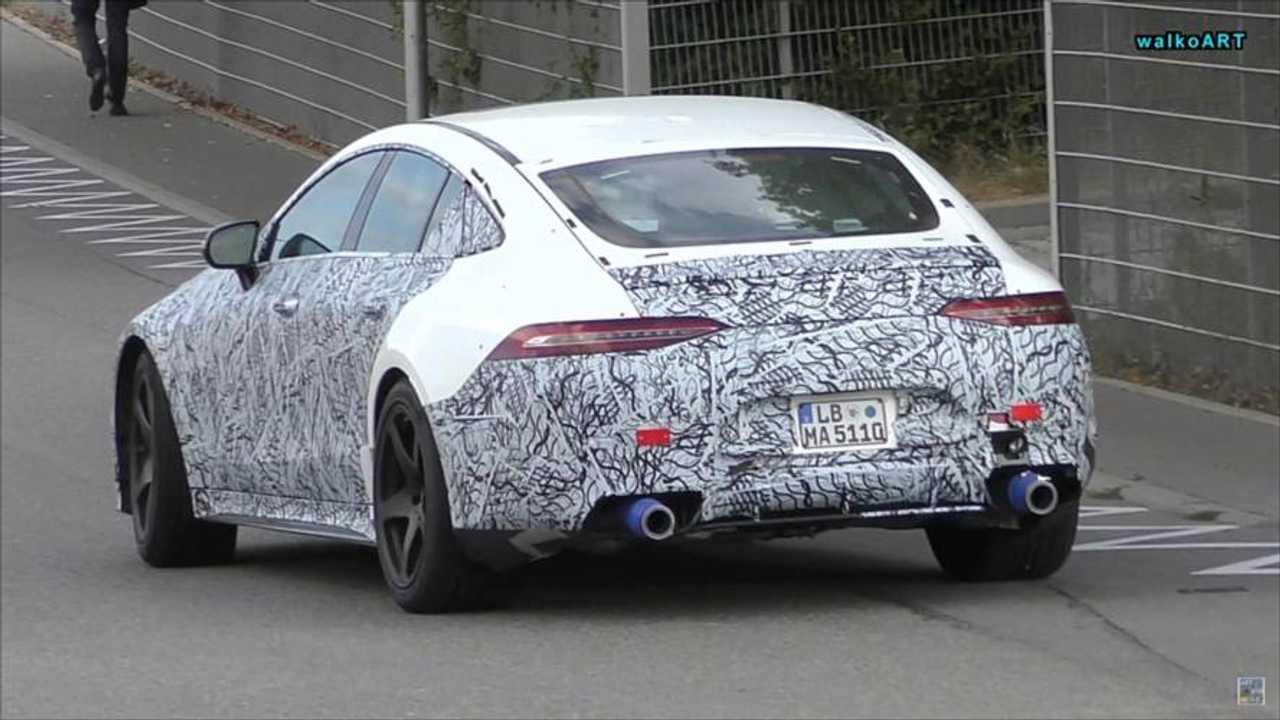 Mercedes-AMG GT 4-Door Coupe prototype spy photo