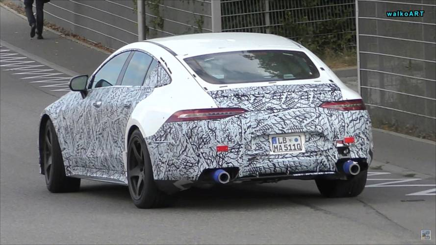 Mercedes-AMG Caught Testing Mysterious GT 4-Door Coupe Version