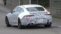Mercedes-AMG GT 4 portes Coupé prototype photos espion